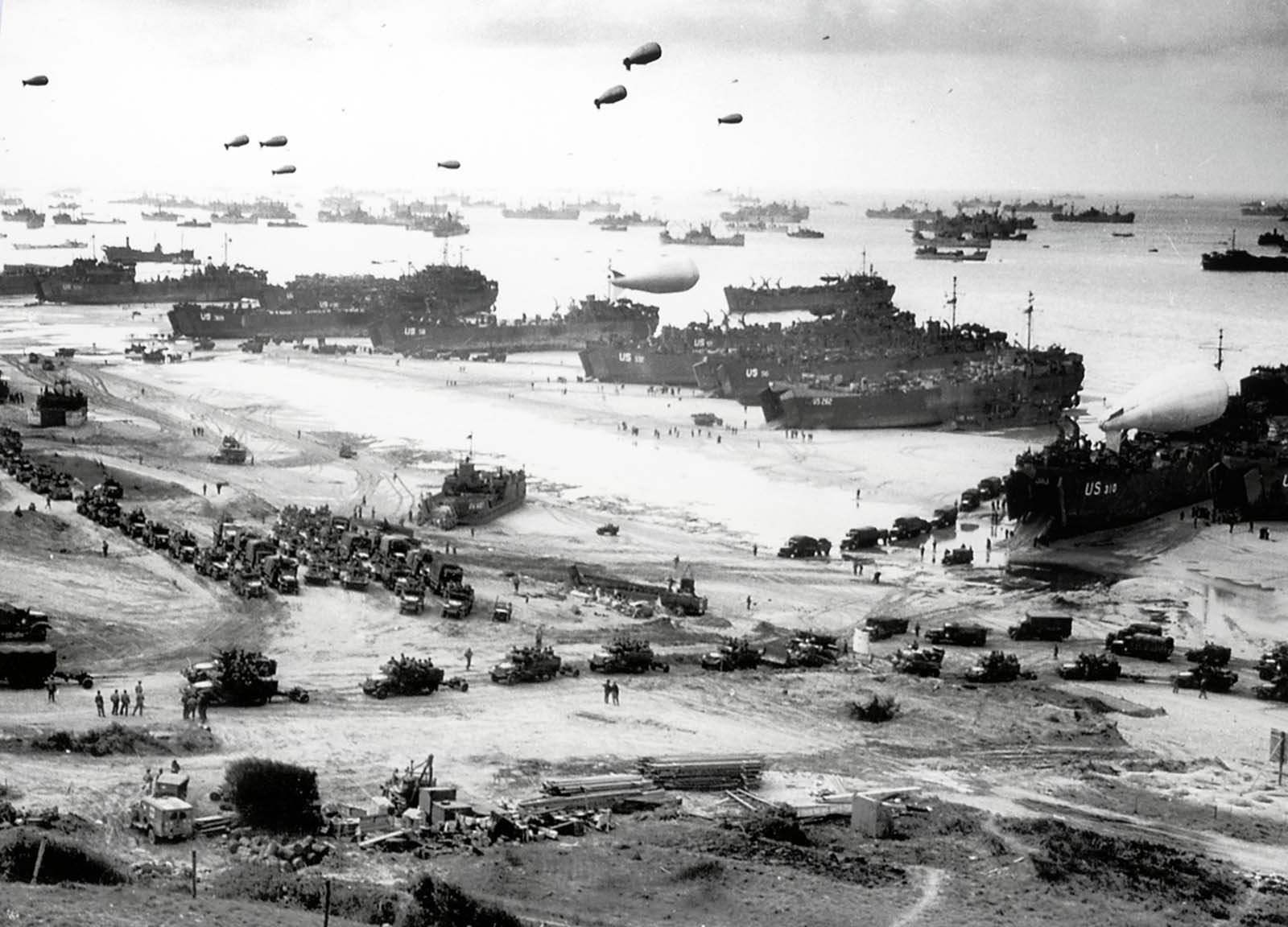 On June 6, 1944, the Allies invade Western Europe in the largest amphibious attack in history.