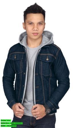 Jaket Jeans Cowok Raindoz RRD 033