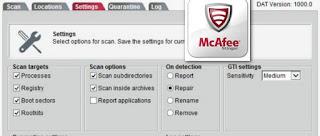 تحميل برنامج مكافى ستينغر لمكافحة الفيروسات McAfee Stinger