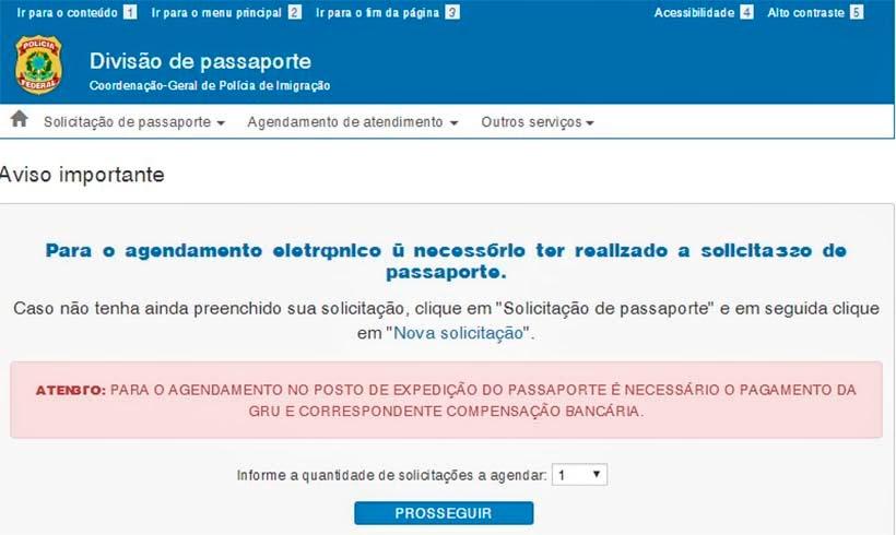 Como renovar passaporte brasileiro - agendamento