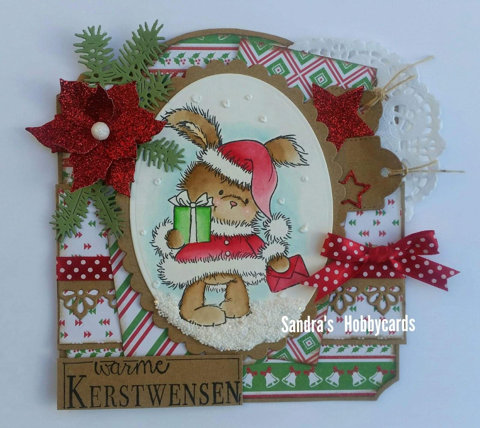 Sandra S Hobbycards Warme Kerstwensen
