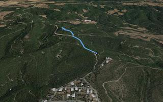 Recorregut: Turó dels Cellers-Turó de la Torre o de Castellnou (El repte dels 100 cims)