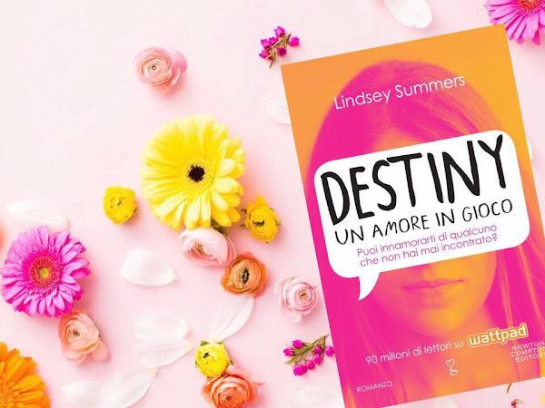Recensione Destiny. Un Amore In Gioco Di Lindsey Summers