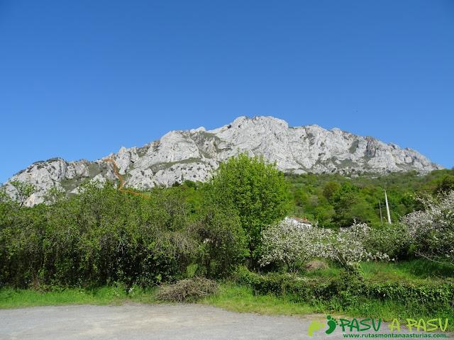 Sierra de Caranga desde Aciera