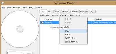 Πως μετατρέπουμε τα αρχεία WBFS σε ISO (Nintendo Wii) 2