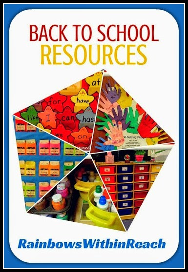 Back to School Resources with Debbie Clement at RainbowsWithinReach