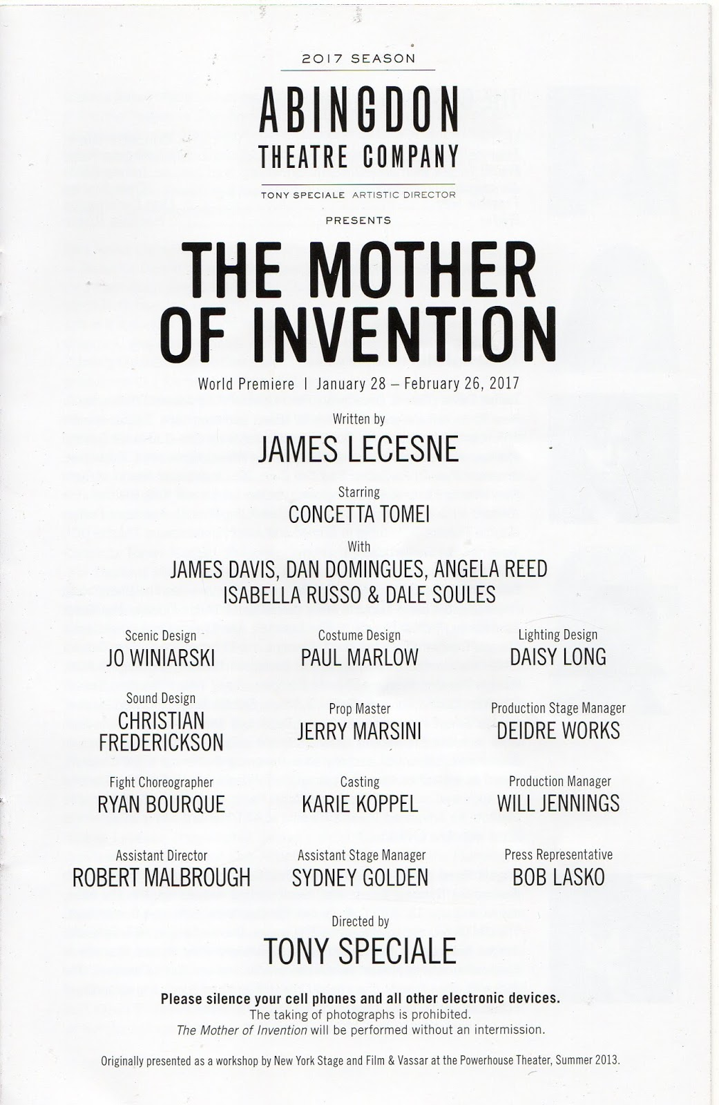 mother of invention Bumbling inventor vincent dooley (andrew bowser) aspires to win the biggest honor in his field, but finds his attempts repeatedly foiled by his arch nemesis martin wooderson (jimmi simpson), an .