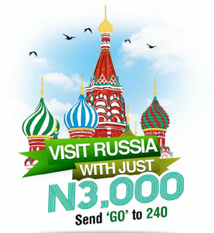 How to be qualified for the on going Glo Nigeria free trip to Russia