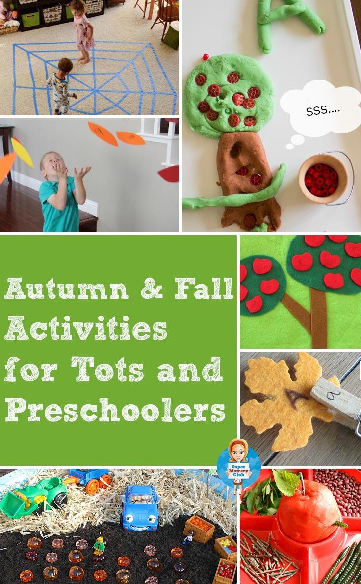Fall Playdough Mats & Other Fall Activities | Totschooling ...