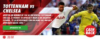 Circus promocion 50 euros Tottenham vs Chelsea 20 agosto