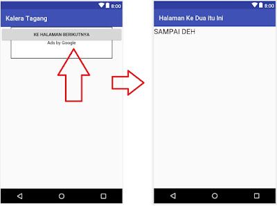 Cara Menghubungkan 2 Activity pada Android Studio