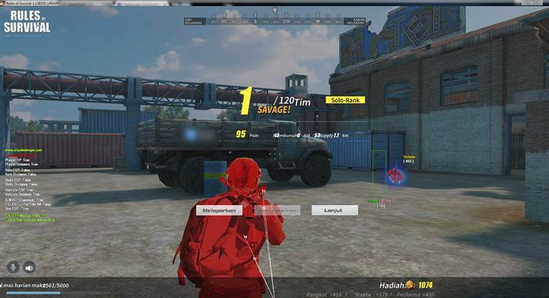 download cheat rules of survival pc