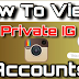 How to See Instagram Private