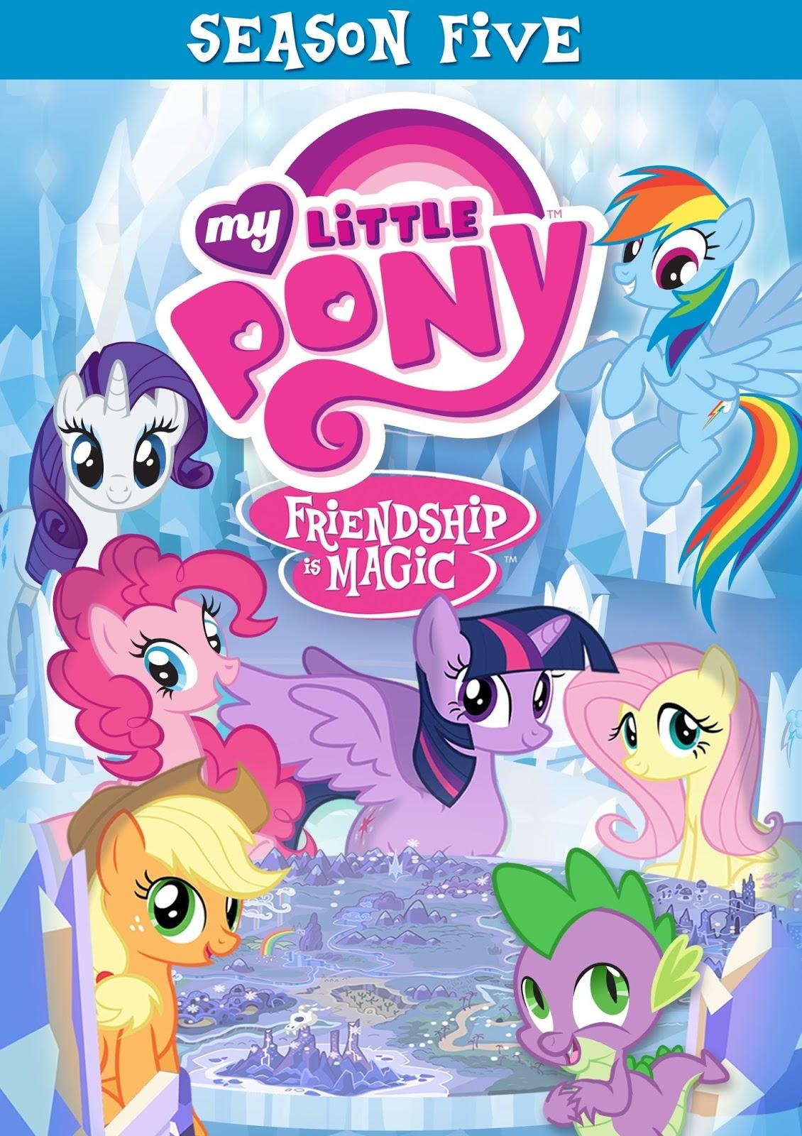 Equestria Daily MLP Stuff Season 5 My Little Pony DVD
