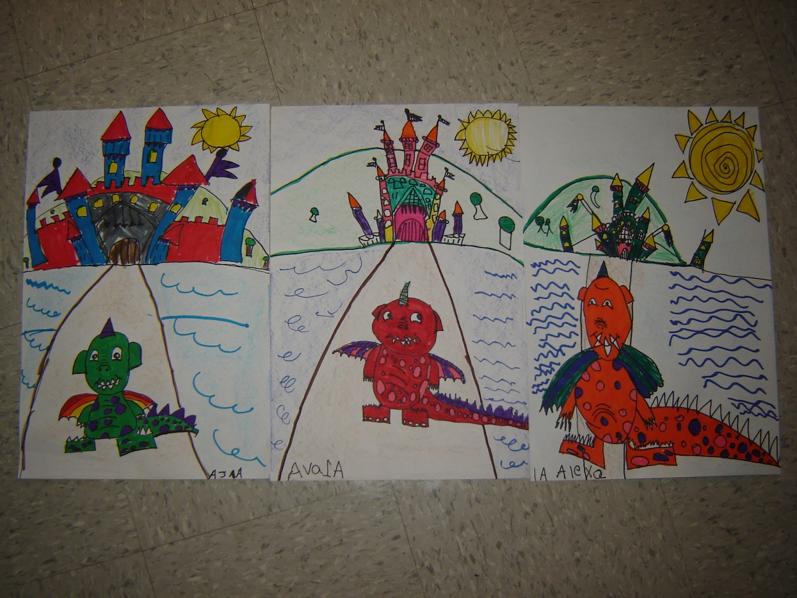 Jamestown Elementary Art Blog 1st Grade Castles