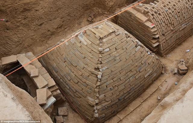 Archaeologists Find Shocking 'Egyptian Style' Pyramid In China