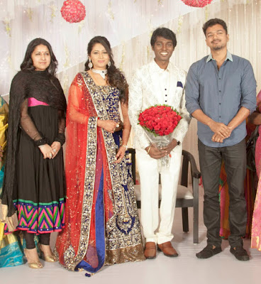 actor-vijay-Atlee-Priya-reception