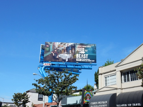 Feed the Beast TV series billboard