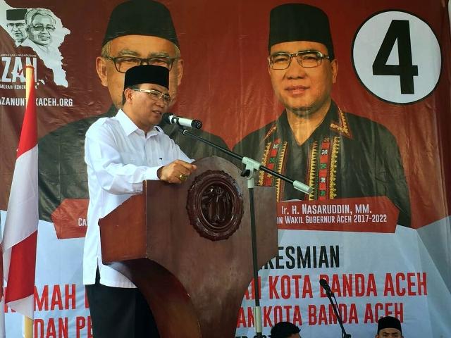 Cagub No 4 Ungkap Targetnya Jika Terpilih Memimpin Aceh
