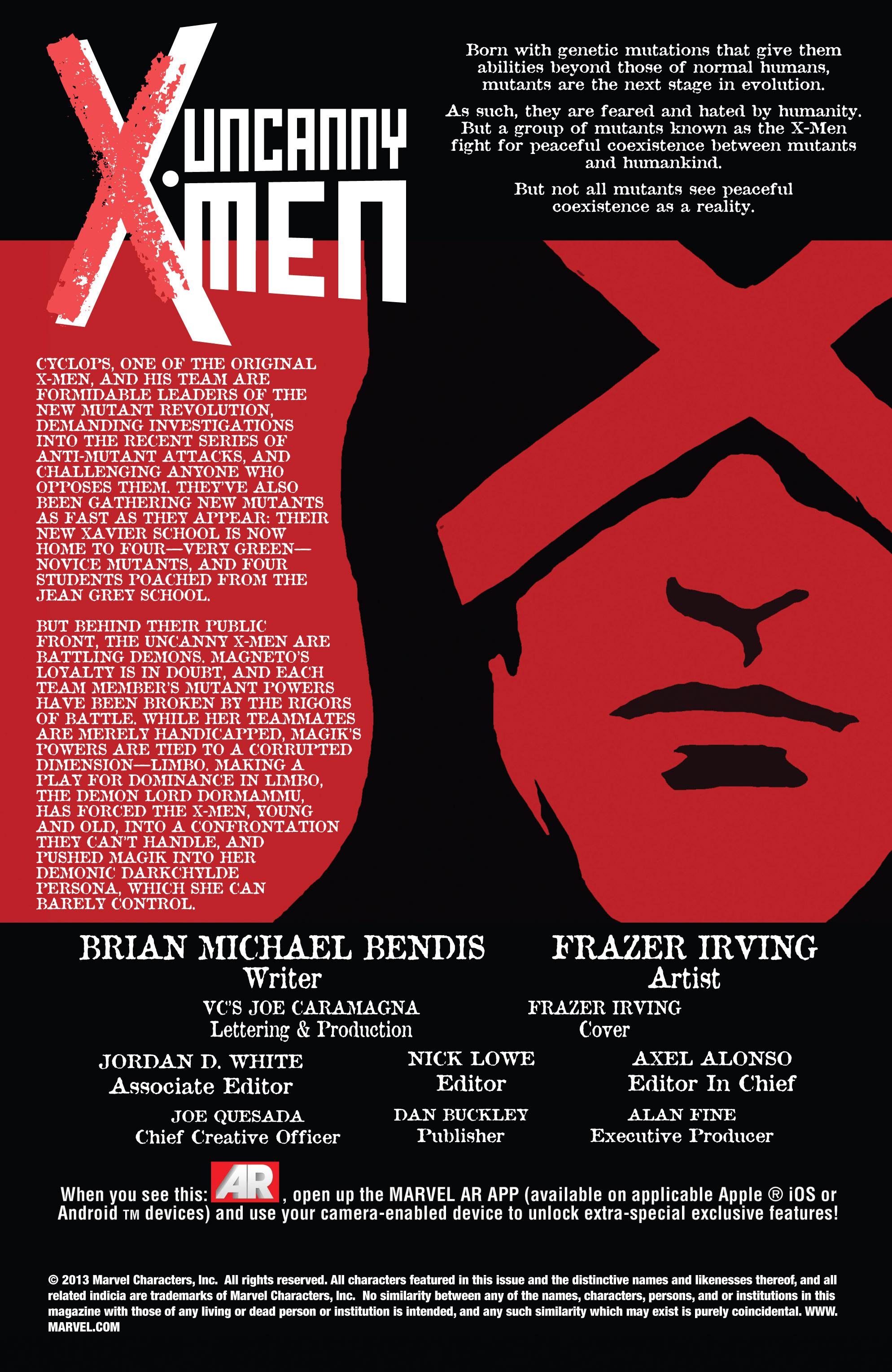 Read online Uncanny X-Men (2013) comic -  Issue #6 - 2
