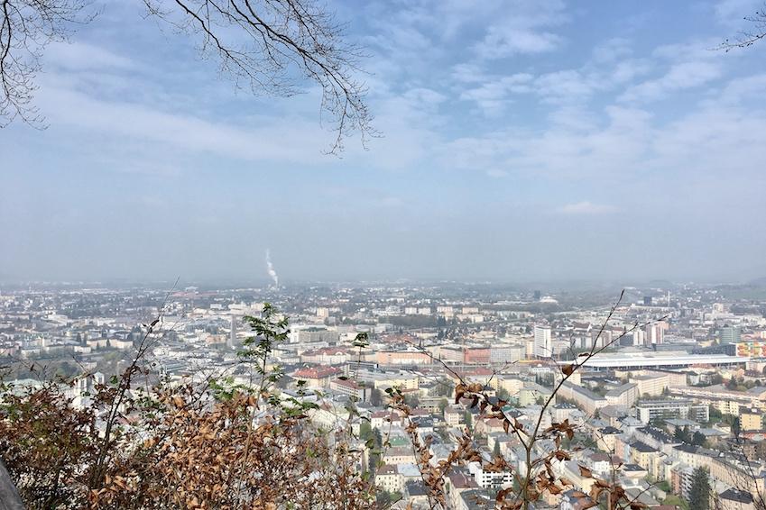 Ausblick Richtung Linzergasse