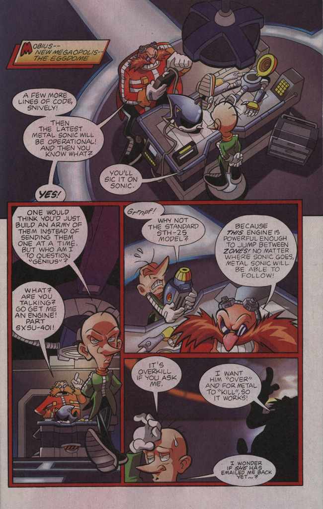 Read online Sonic The Hedgehog comic -  Issue #195 - 7