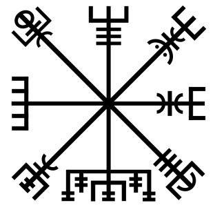 Los s mbolos y su significado el vegvisir s mbolo y significado - Simbolos japoneses y su significado ...