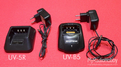 Baofeng UV-5R, Baofeng UV-B5 battery chargers.