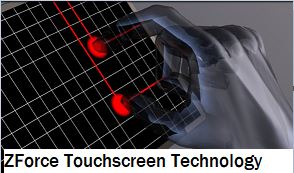 ZForce Touchscreen Technology seminar report ppt