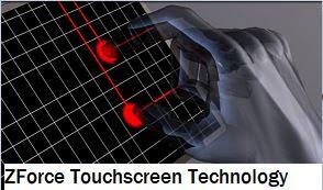 ZForce Touchscreen Technology seminar report ppt