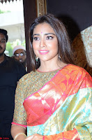 Shriya Saran Looks Stunning in Silk Saree at VRK Silk Showroom Launch Secundrabad ~  Exclusive 111.JPG