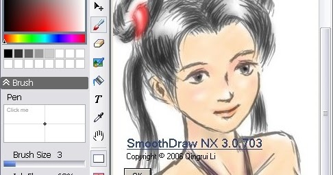 Painting And Digital Free Hand Drawing Software