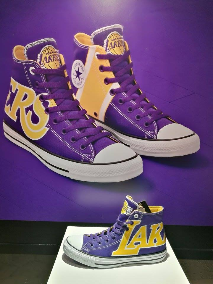 """various colors 958a1 66b55 The Los Angeles Lakers are all about """"Showtime"""" – home of the purple and  gold and one of the league s most successful teams in NBA history with 16  ..."""