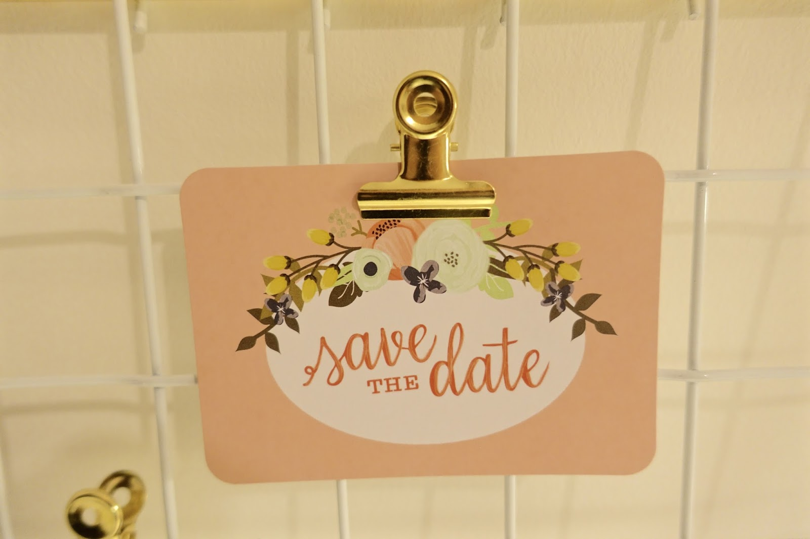 save the date wedding invite hobbycraft