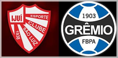 Jogo São Luiz x Grêmio Ao Vivo na SporTV e PFCI   - semifinal do Gauchão