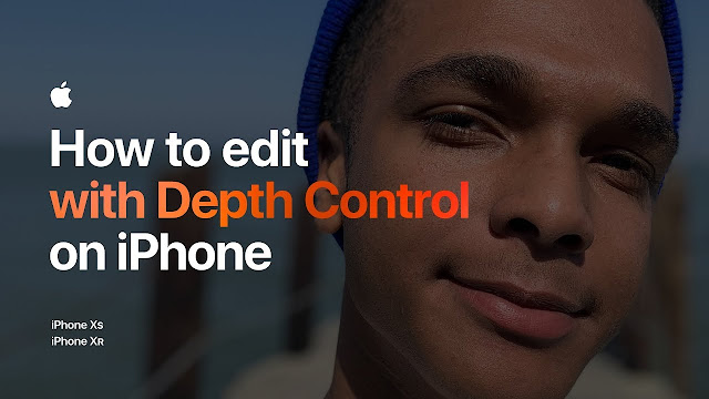 How to edit with Depth Control on iPhone