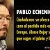 """Pablo Echenique: """"Ciudadanos se ofrece a lavarle la cara al partido más corrupto de Europa"""""""
