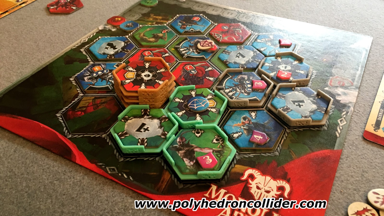 Monolith Arena Heuroshima Hex battle game review