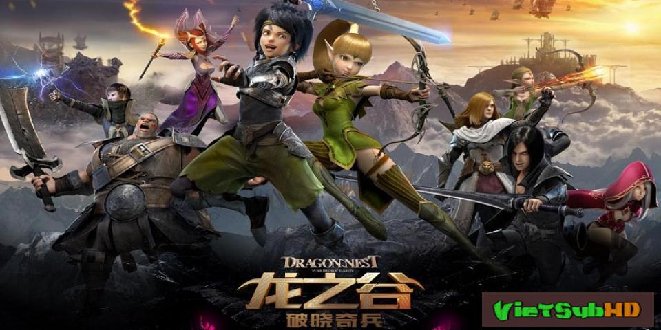 Phim Hắc Long Đe Dọa VietSub HD   Dragon Nest: Warriors Dawn 2014