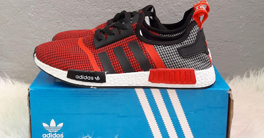 NMD Red And Grey
