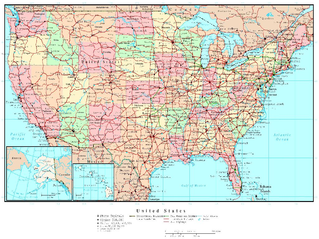 high resolution united states map