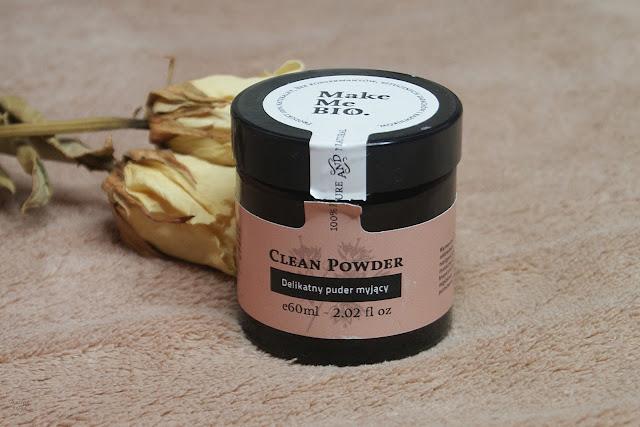 [284.] Oczyszczanie skóry bez użycia detergentów- delikatny puder myjący Make Me BIO.