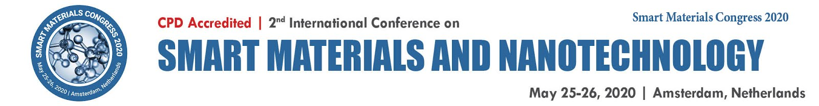 International Conference on Smart Materials and Nanotechnology