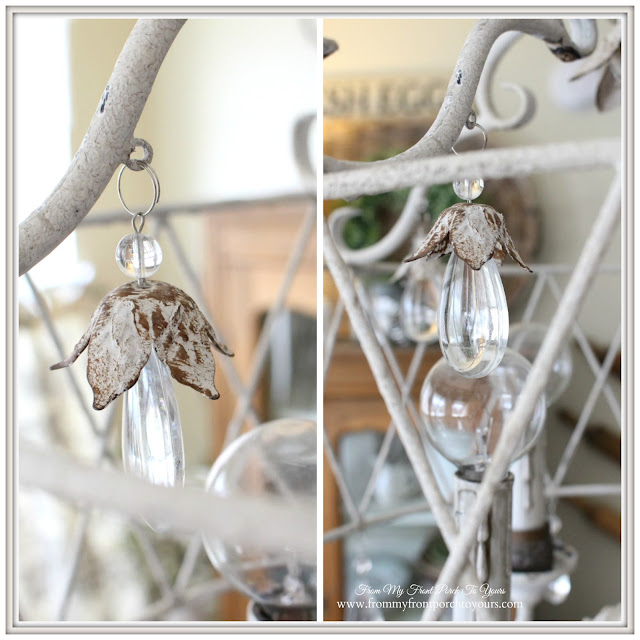 Farmhouse-French Farmhouse-Breakfast Nook-French Chandelier-From My Front Porch To Yours