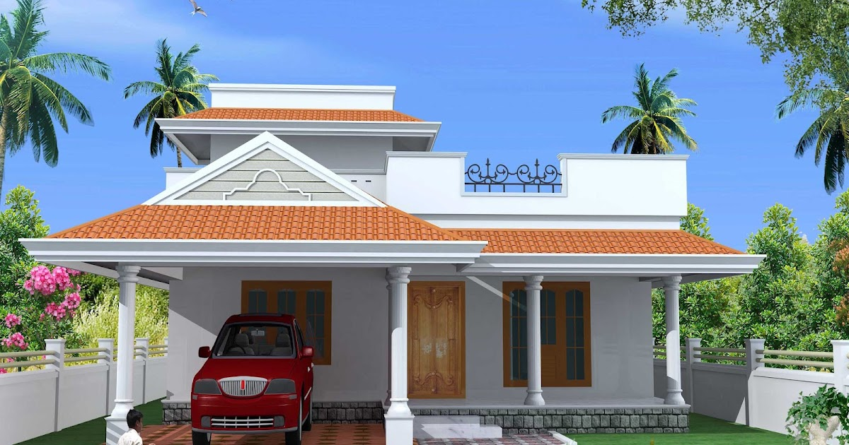 Green homes kerala style single floor house plan 1500 for 1500 sq ft house plans kerala