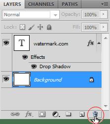 Membuat Watermark dengan Brush di Photoshop