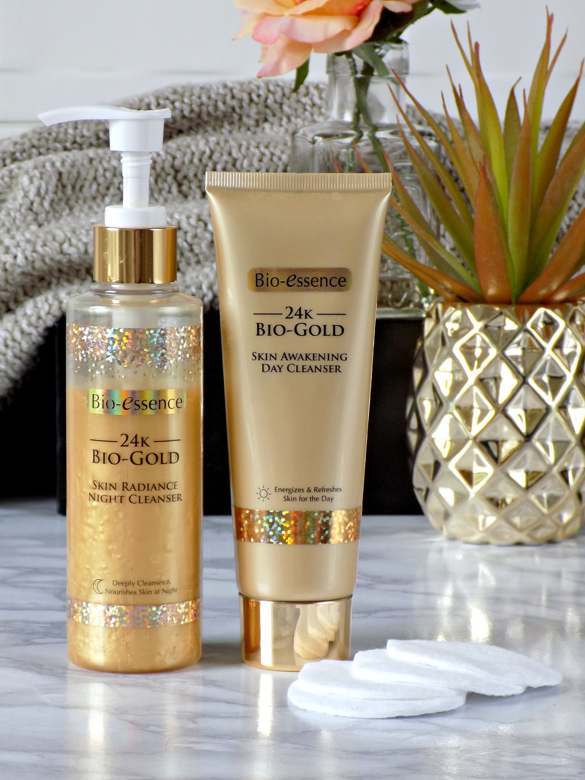 Bio-Essence 24K Bio-Gold Day and Night Cleanser