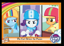 My Little Pony The Cart Before the Ponies Series 5 Trading Card