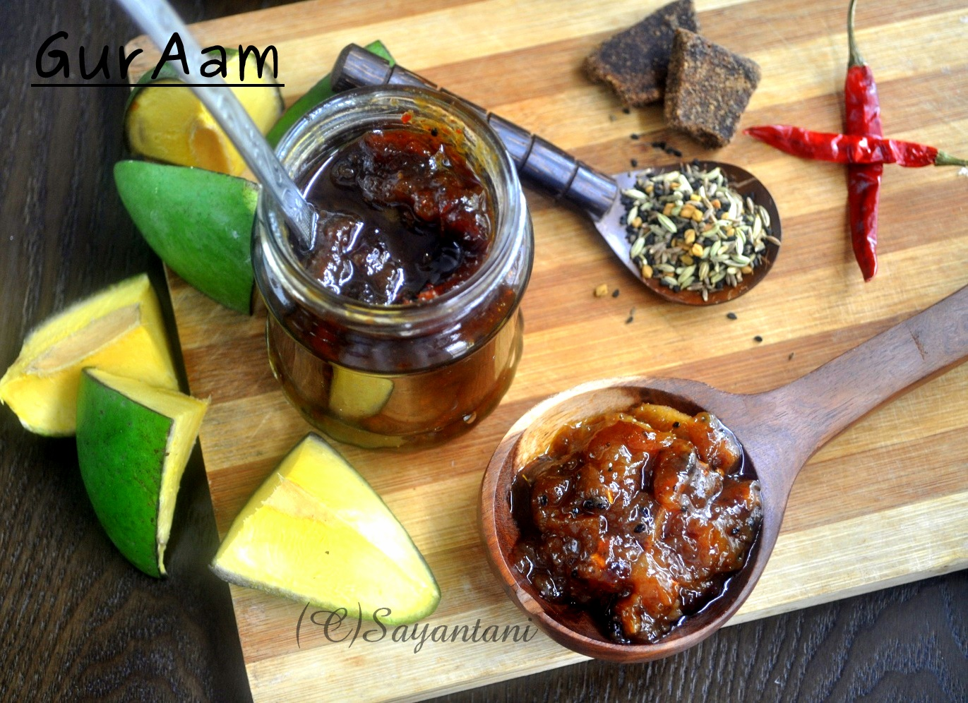 Gur Aam Sweet Sour N Spicy Mango Pickle With Jaggery A