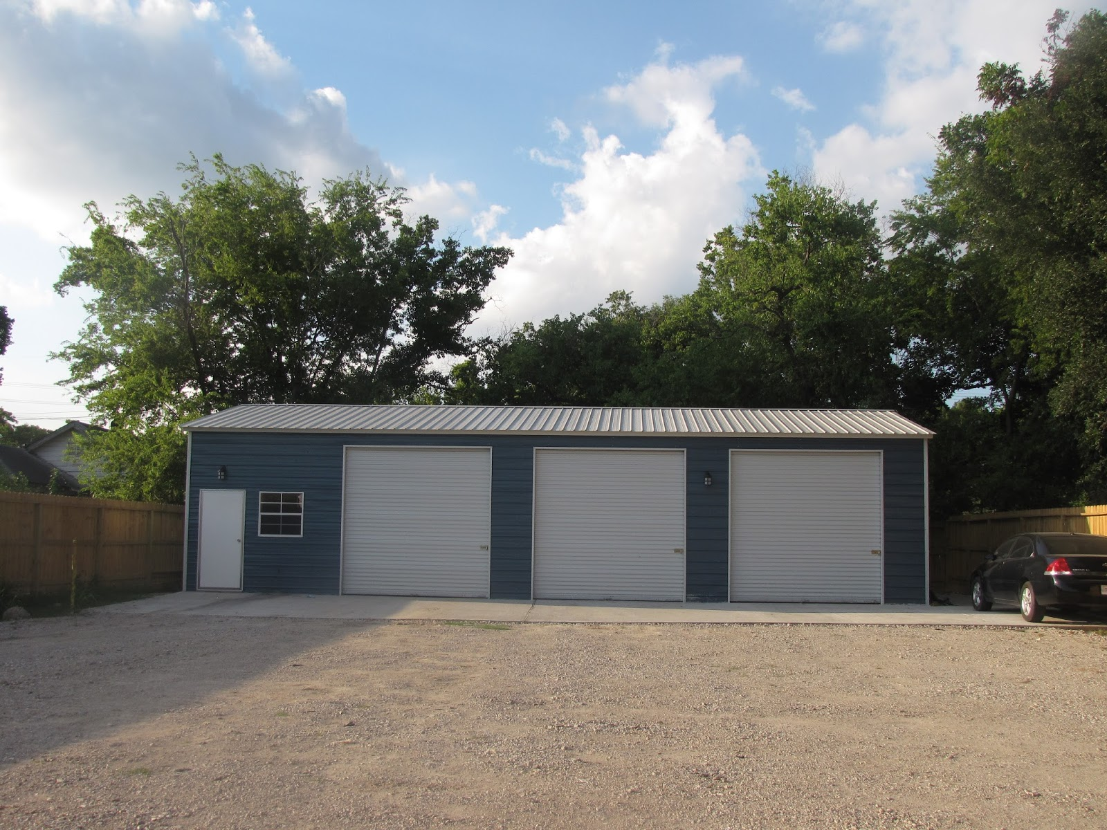 Buildings etc sherman whitesboro sheds carports more for Car barns garages